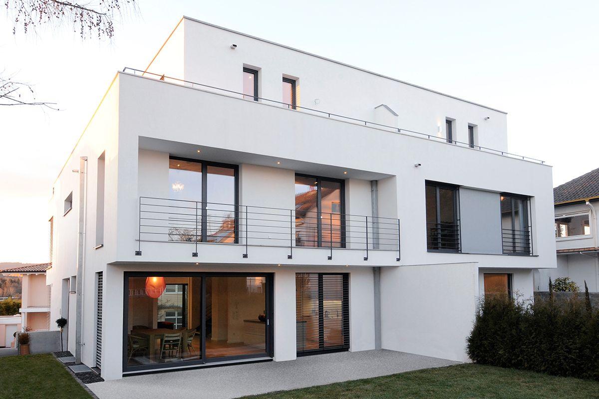 Massivhaus Modern anspruchsvolles wohnen im städtischen umfeld massivhaus im