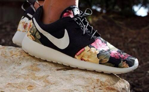 5084b6fdf066 There are 5 tips to buy these shoes  nike nike flowers floral black white sneakers  nike roshe run floral nike roshes floral flowers roshe runs nikes neon ...