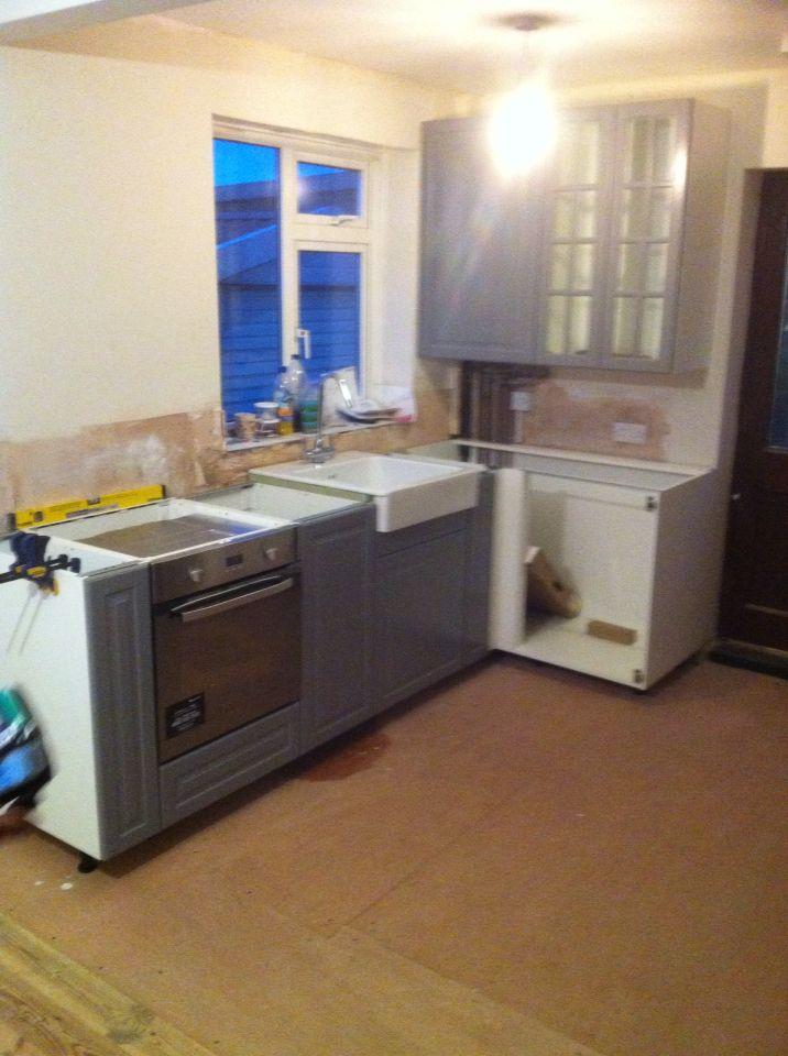 Ikea Bodmin Range Doors In Grey Kitchens Kitchen Home Decor