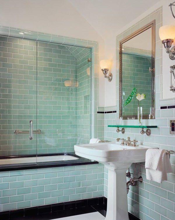 20 Stylish Mint Green Bathroom Ideas Mit Bildern Grune