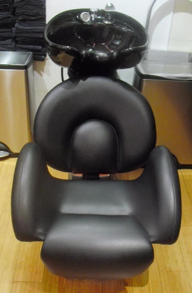 Belvedere Backwash Ceramic Shampoo Bowl Sink Chair Barber Station