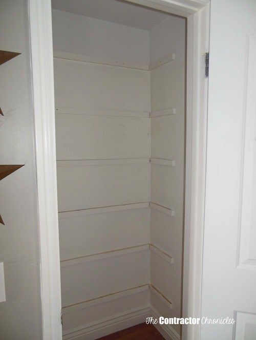 Building Closet Shelves Using A Template   The Contractor Chronicles