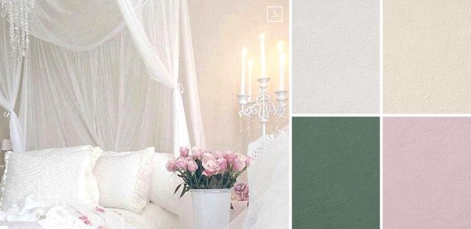 Shabby Chic Bedroom Paint Colors Design Ideas