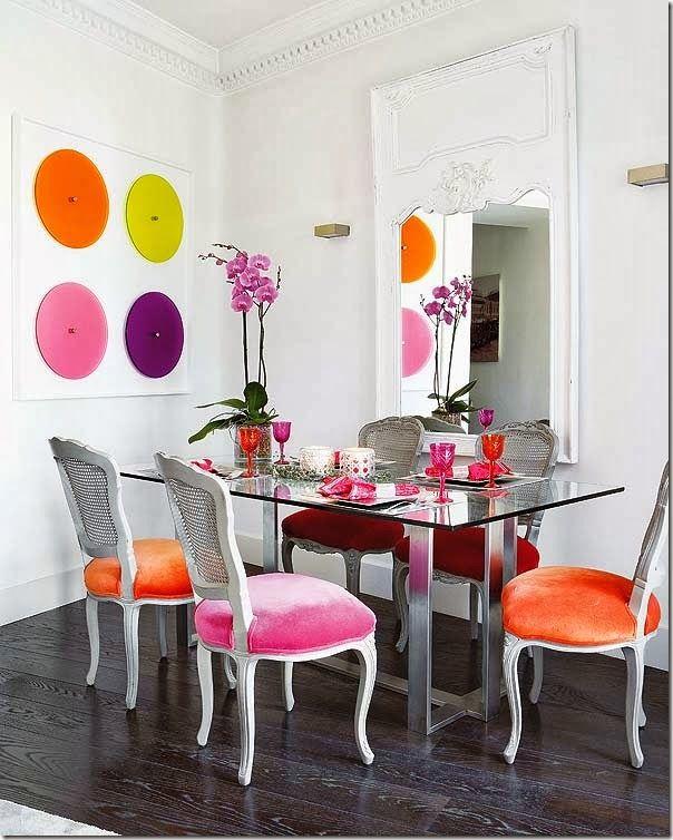 Case e interni appartamento barcellona colori for Interni colorati casa