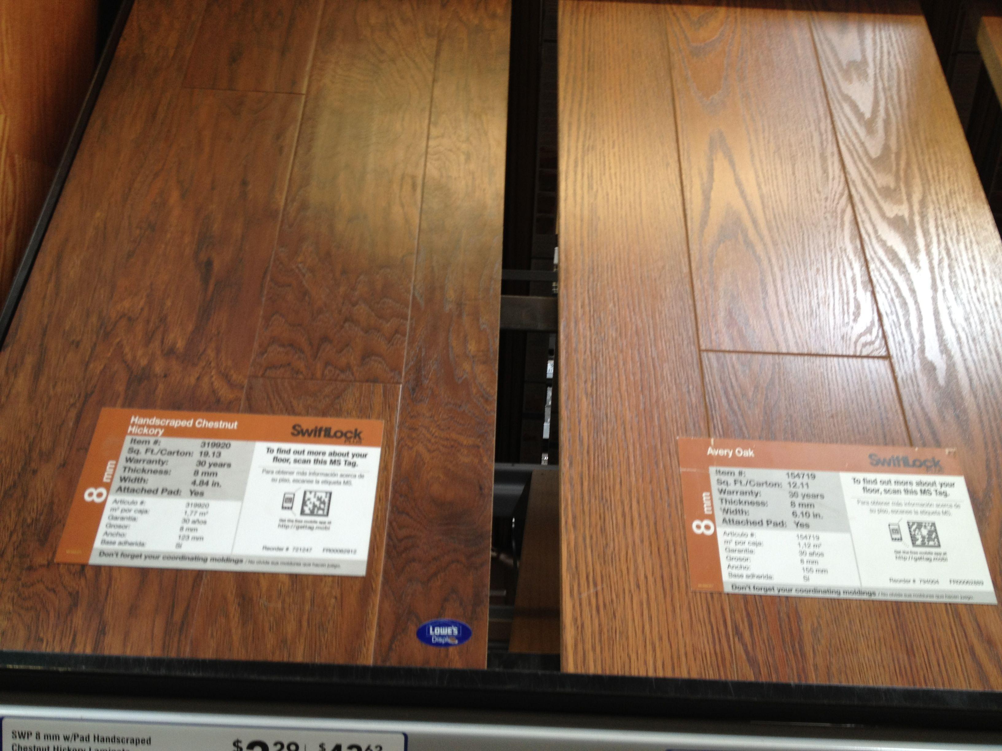 Home Depot 2 29 Option On Left Swift Lock Laminate