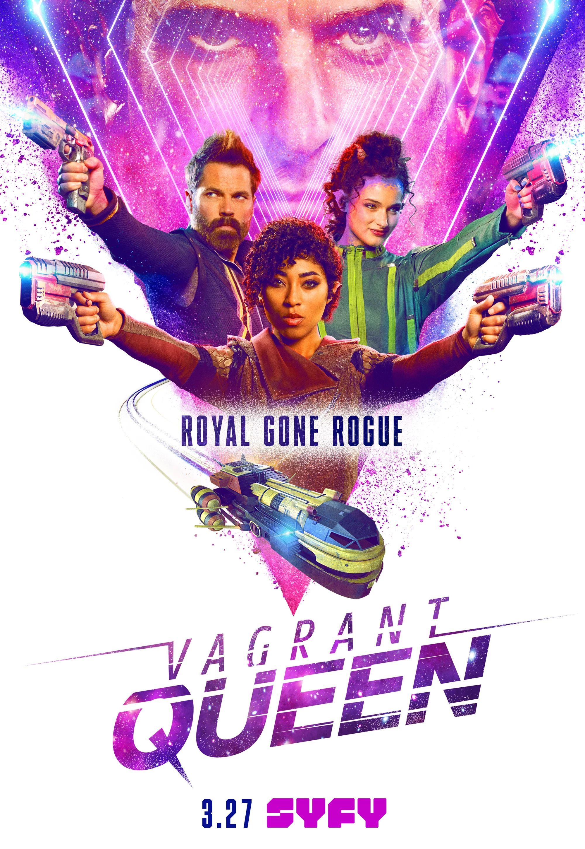 Vagrant Queen TV Show Posters in 2020 Sci fi tv shows