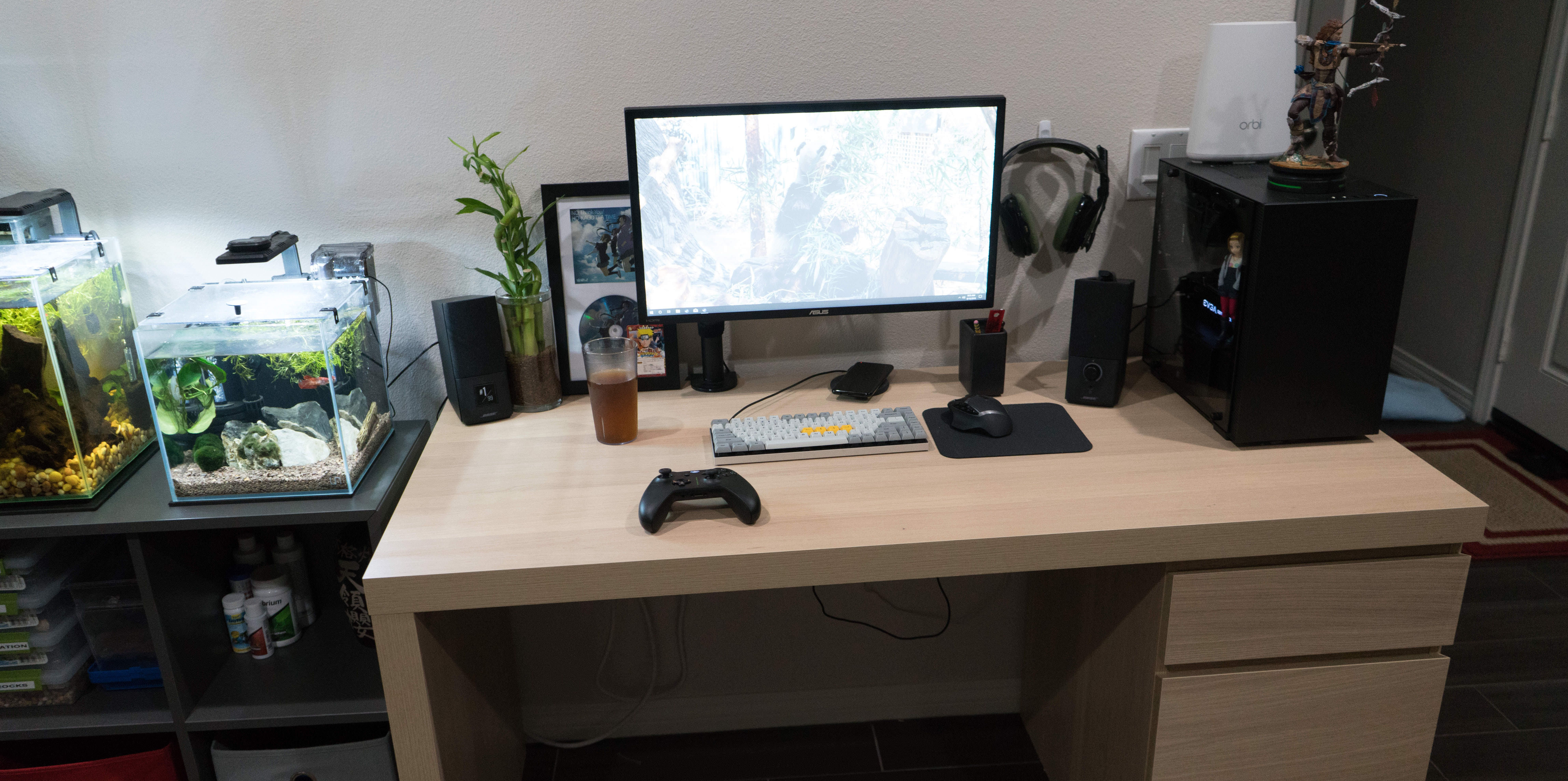An Ikea Malm Desk And Some Updates Because I M Bored Ikea Malm Desk Ikea Malm Ikea White Desk