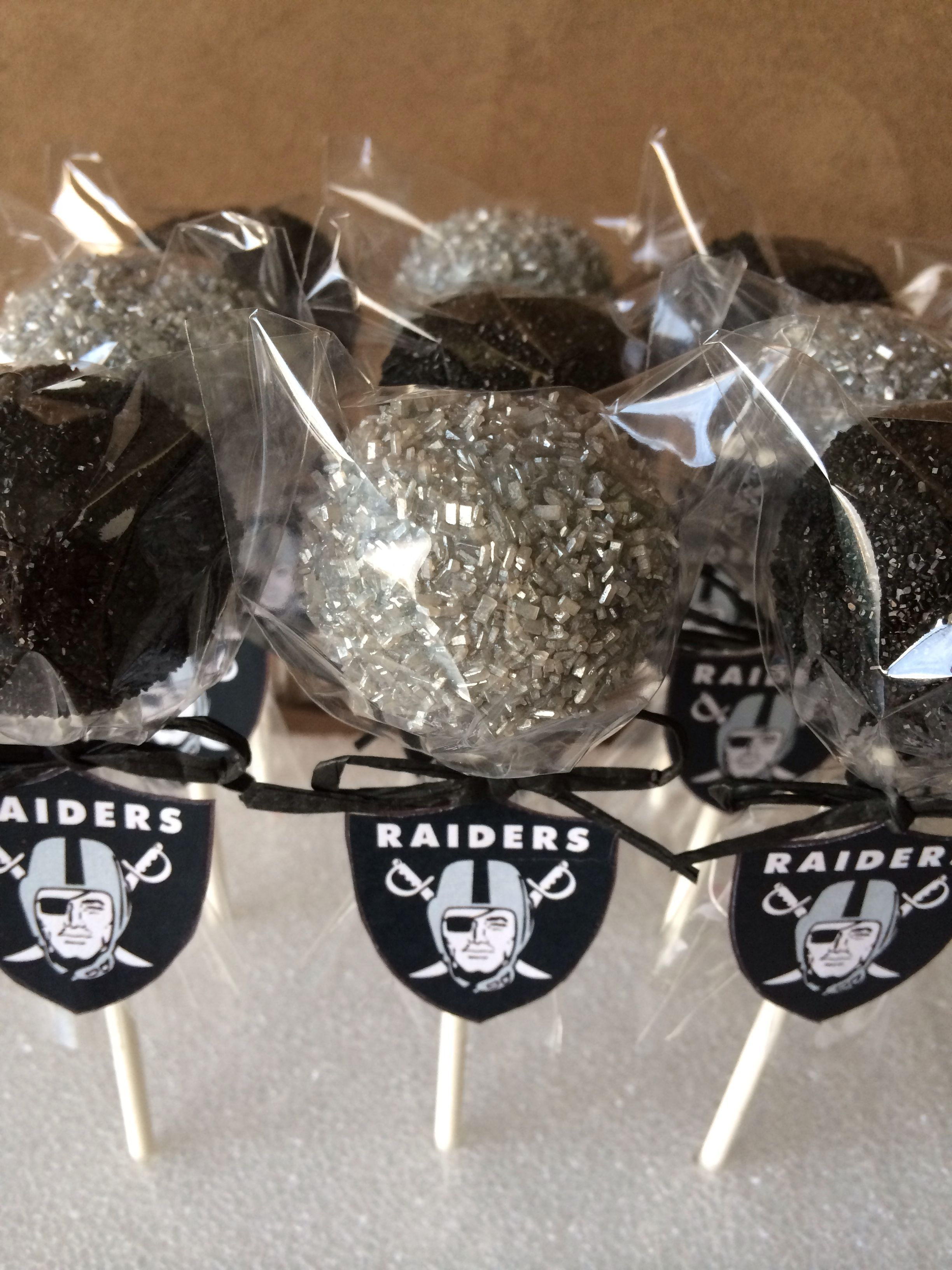 Raiders Cake Pops