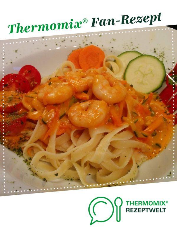 Pasta Scampi / Nudeln mit Garnelen #shrimpscampi