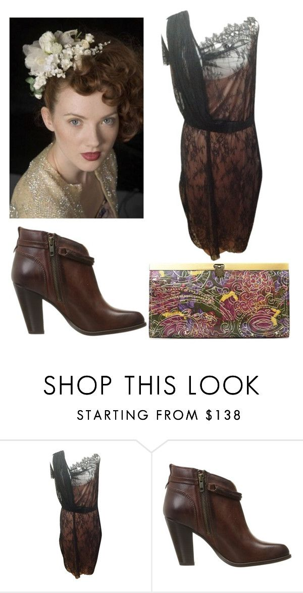 """Untitled #237"" by amory-eyre ❤ liked on Polyvore featuring Hoss Intropia, Frye, Patricia Nash and Pip Hackett"