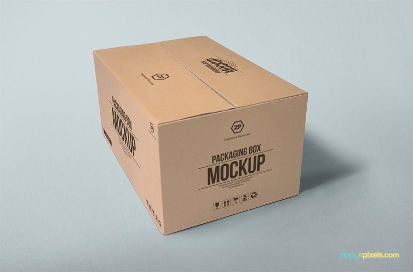 Download Packaging Box Mockup Free Psd Download Zippypixels Box Mockup Box Packaging Free Mockup