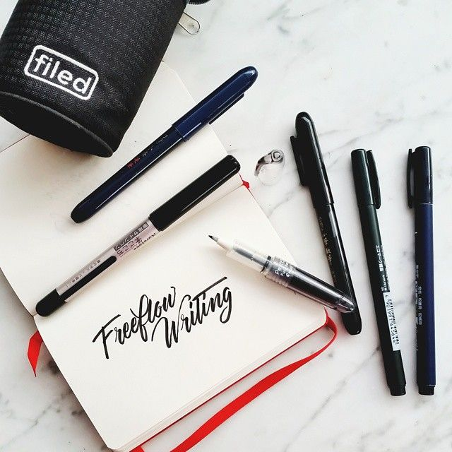 Image result for free flow writing