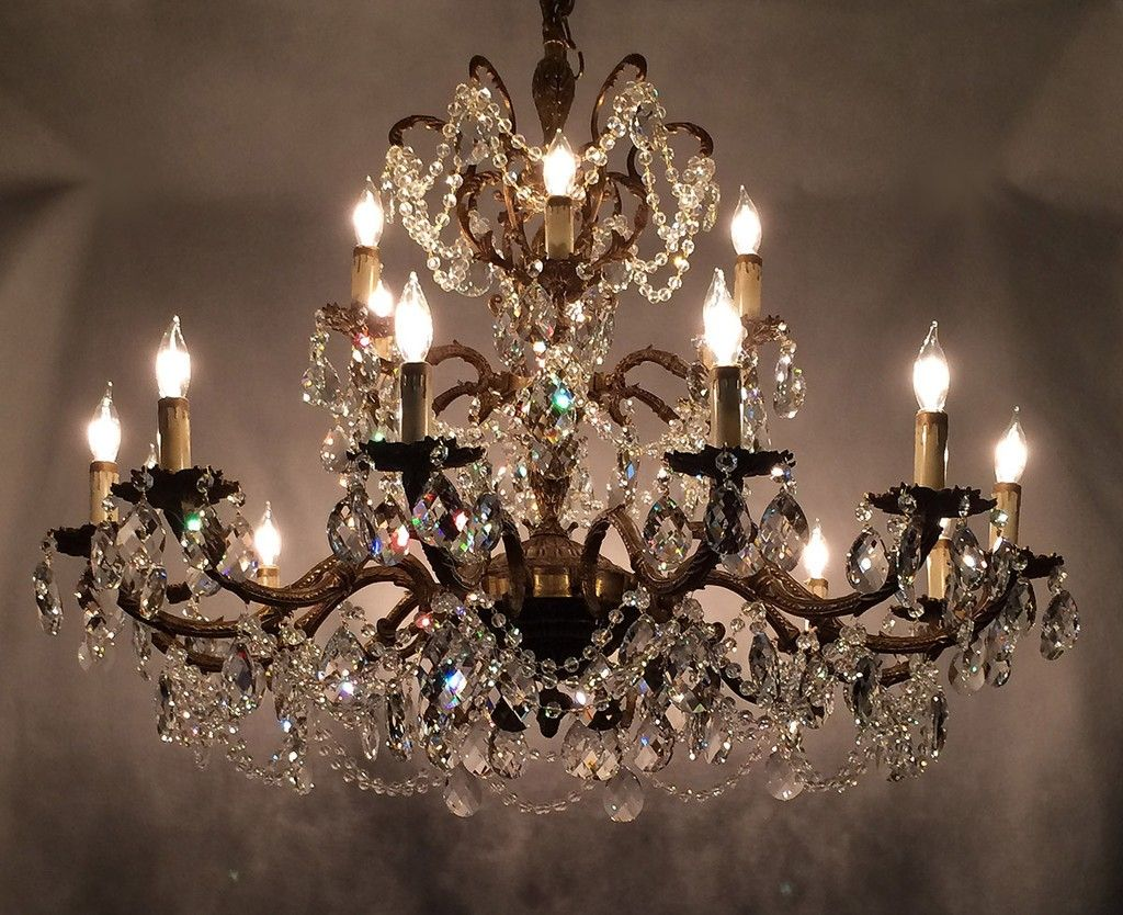 Antique Kitchen Chandeliers How To Make A Crystal Home Ideas