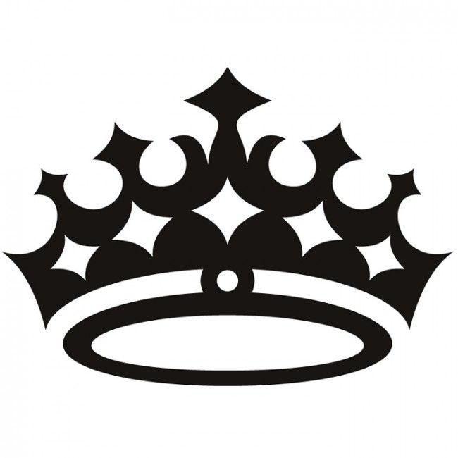 Queen Crown Wall Sticker Princess Wall Art