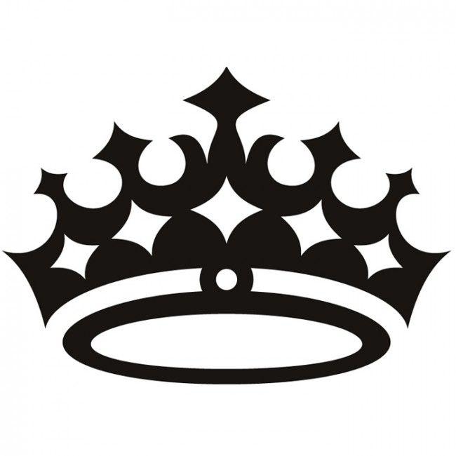 Queen Crown Wall Sticker Princess Wall Art | SVG images ...
