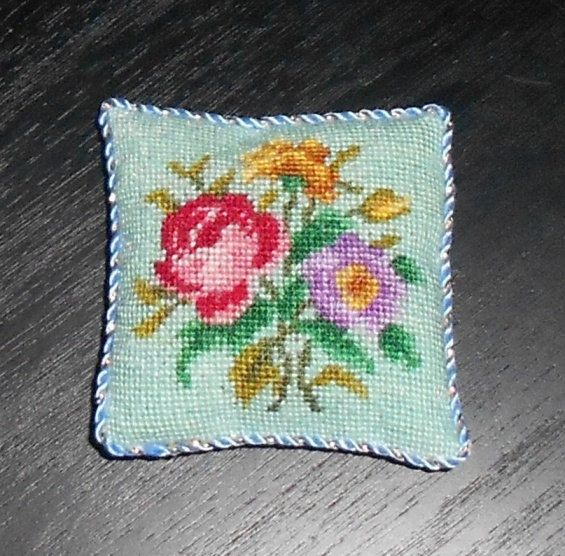 Needlepoint Images Items Similar To Dollhouse Miniature