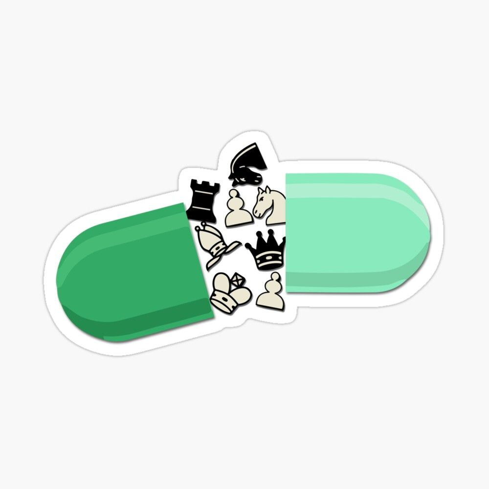 Pill's Gambit - Let's Play Sticker by rhserra