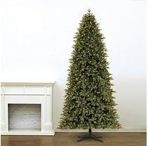 12 Ft Member S Mark Artificial Pre Lit Led Frasier Fir Quick Set Simple Shape Quick Fold Christma Christmas Tree Christmas Tree Storage Color Changing Led