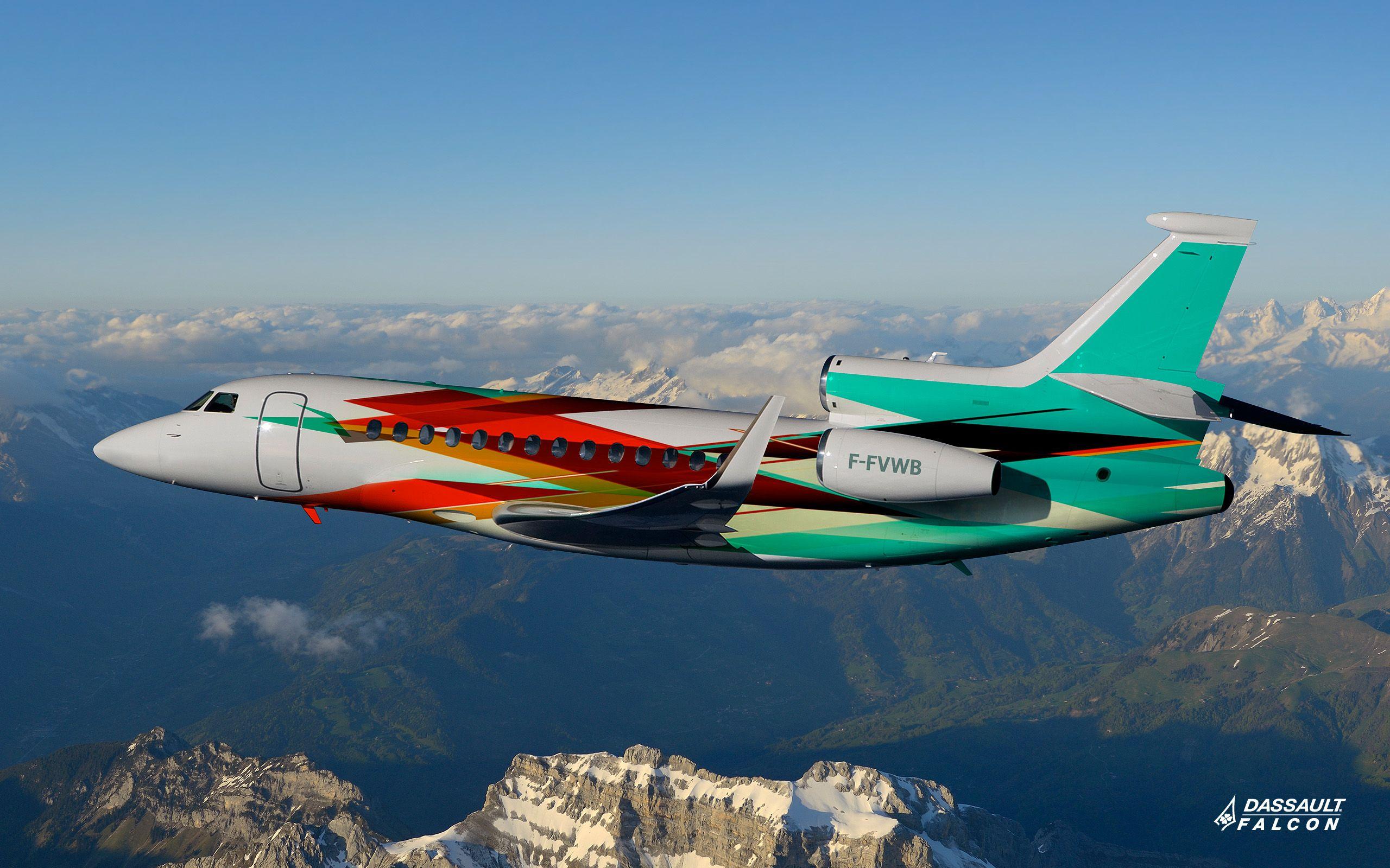 Dassault Falcon 7x F Fvwb Business Jet Crew 2 Pilots