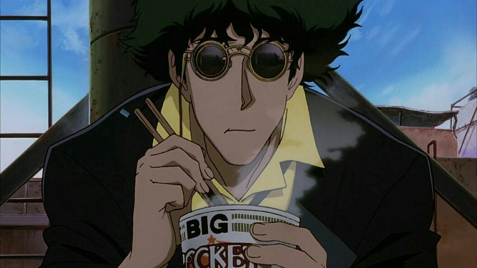 Spike Noodles Cowboy Bebop Anime Cowboy Bebop Cowboy Bebop Wallpapers