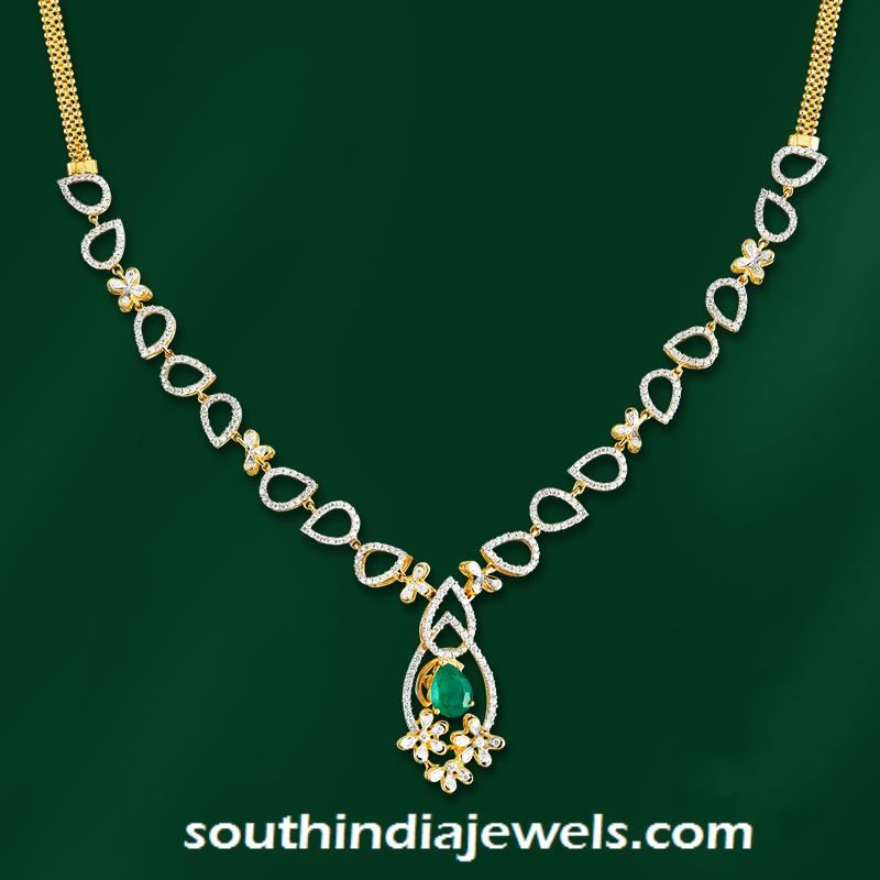 Stylish designer diamond necklace stylish diamond and designers stylish designer diamond necklace from grt audiocablefo
