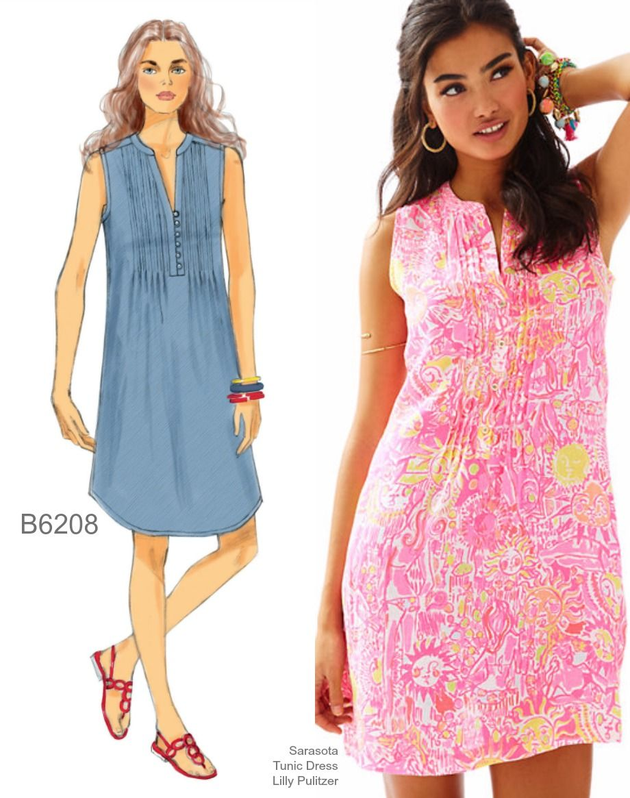 Sew the Look: Butterick B6208 PINTUCK DRESS | "|920|1165|?|57e908d0d5477972673ba7a500603ceb|False|UNLIKELY|0.330396443605423