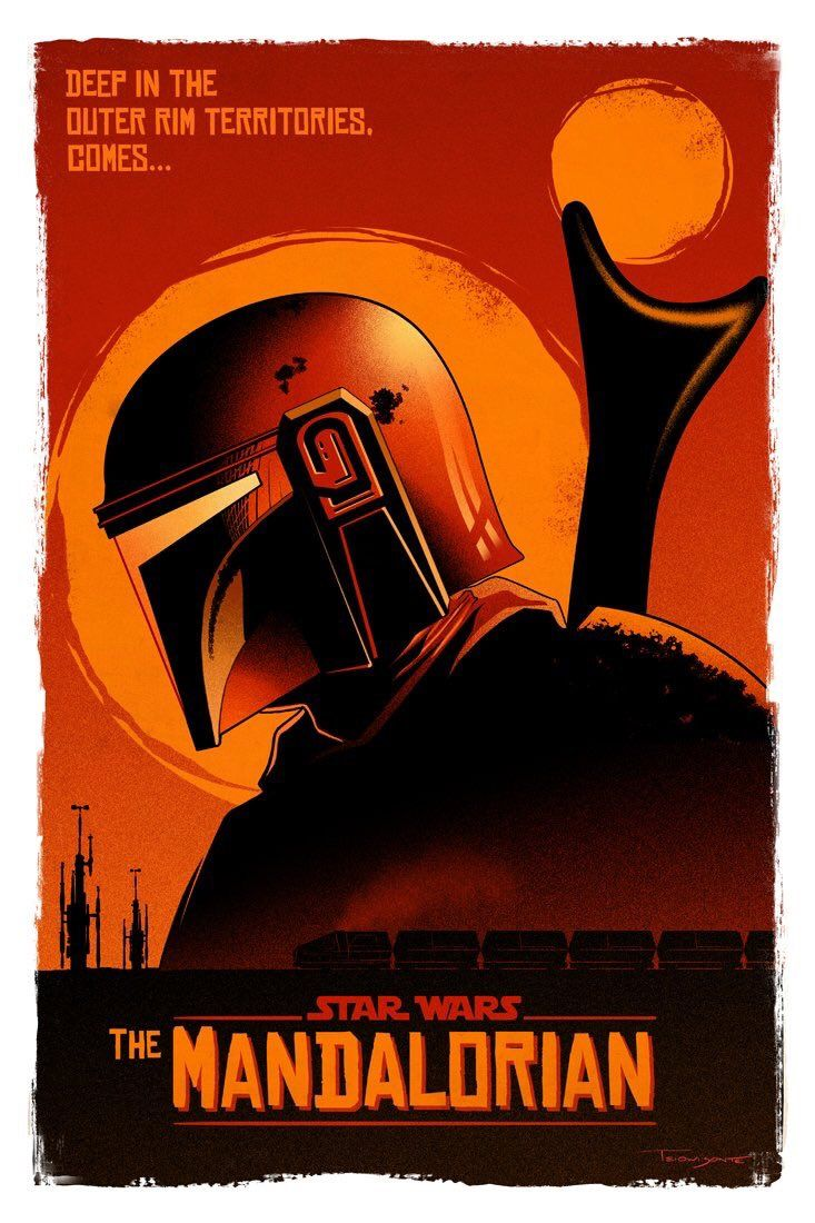 Incredible Mando Poster!http//bit.ly/2Uyl5XH Star wars
