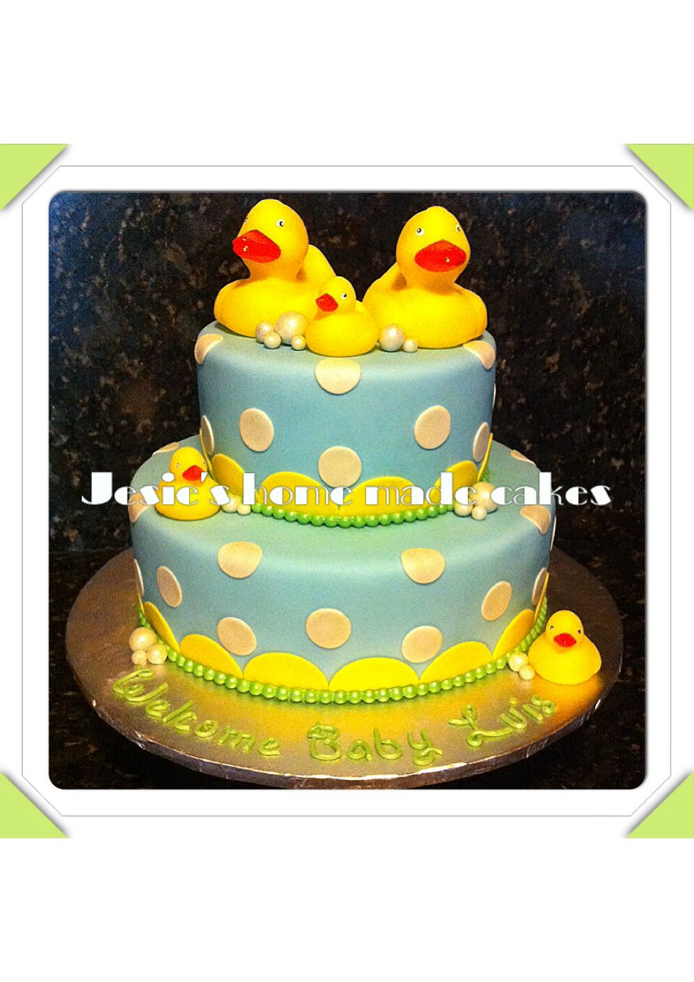 rubber duck baby shower cake dessert sweets pinterest
