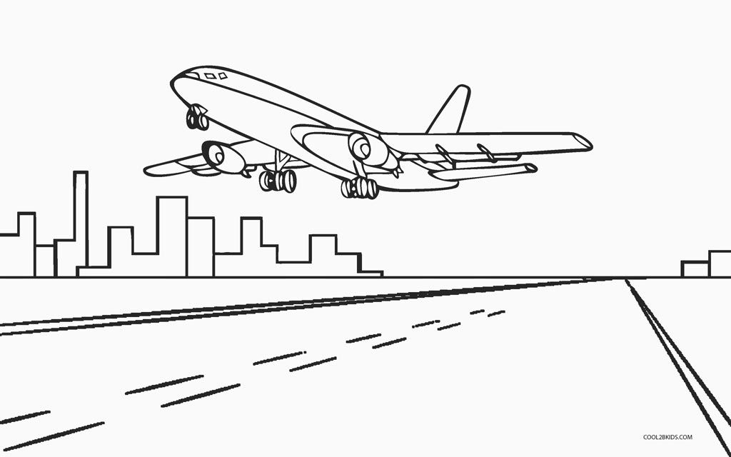 Free Printable Airplane Coloring Pages For Kids Cool2bkids Home