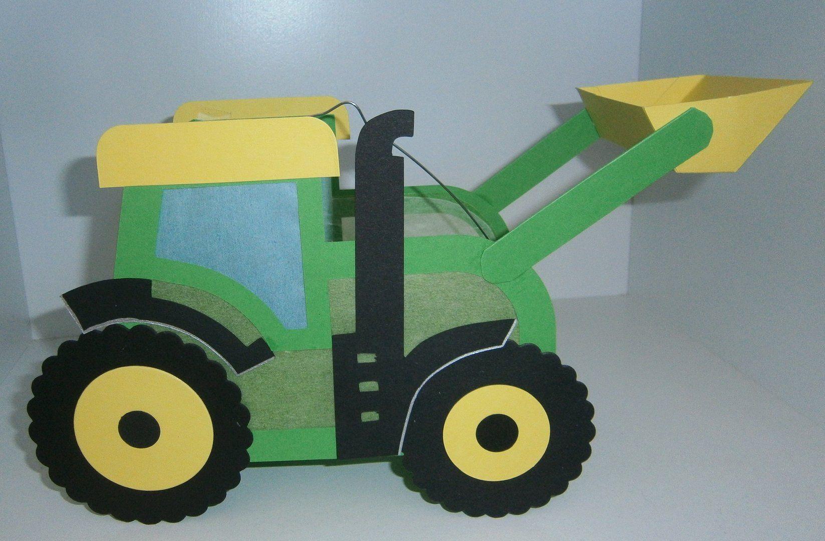 Laterne Traktor John Mit Schaufel Laterne Basteln Vorlagen Kinder Basteln Laternen Laternen Basteln