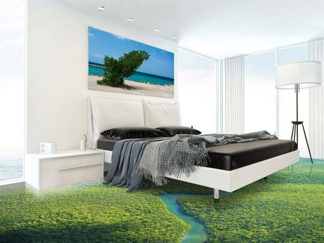 3d grass floor art painting bed room designs 3dgrasspainting goldenglobes cnnbrk