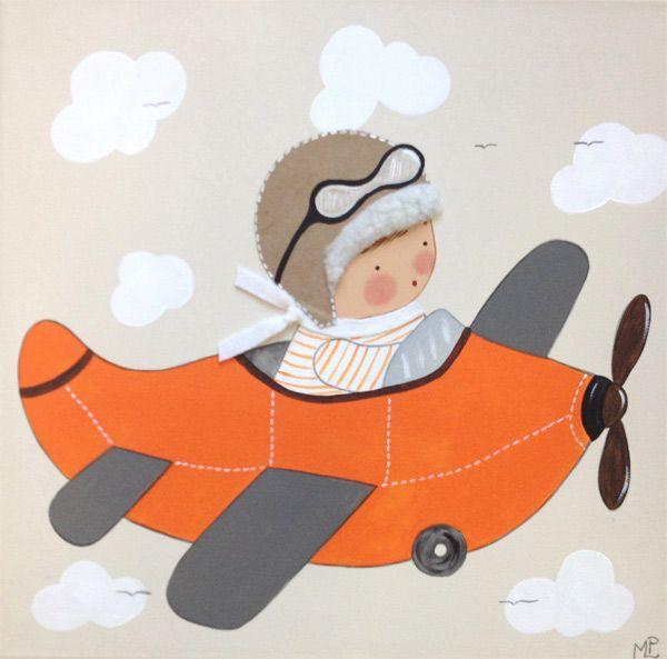 Cuadros infantiles artesanales personalizados cuadros for Dibujos infantiles pintados