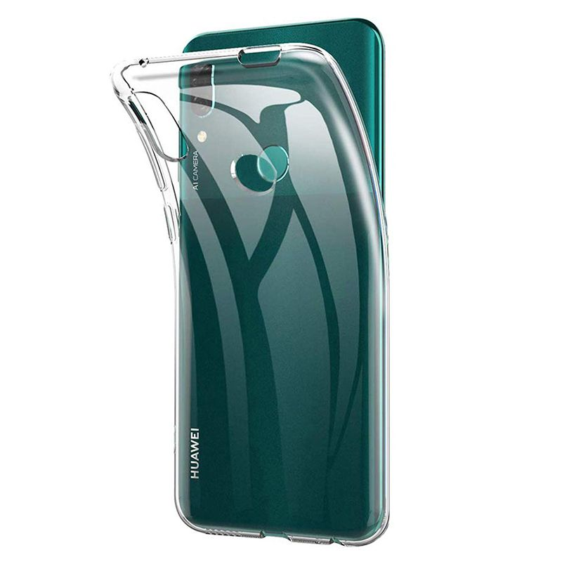 Clear Silicone Phone Case Cover for Huawei P Smart Z Soft TPU ...