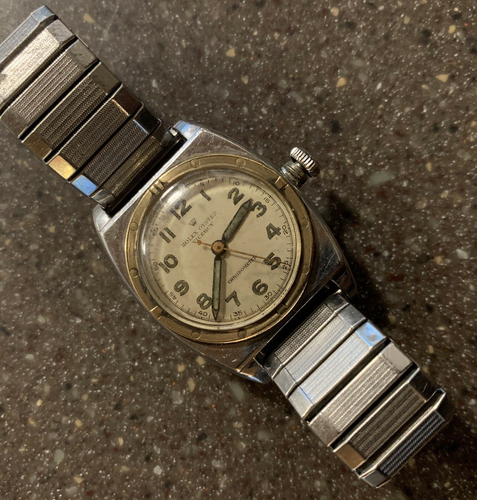 Details about Rolex Oyster Chronometer Viceroy Watch 3359