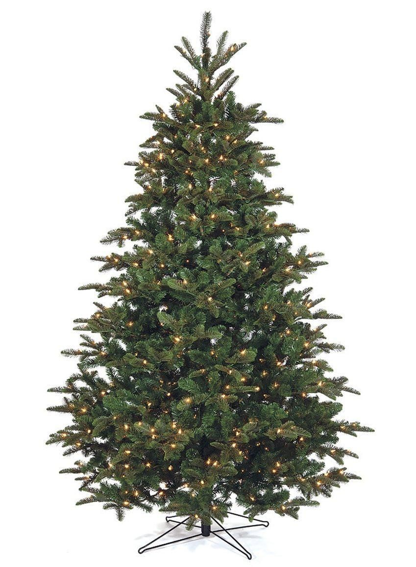 Nordman Lighted Fir Tree (12 Feet) | White christmas trees ...