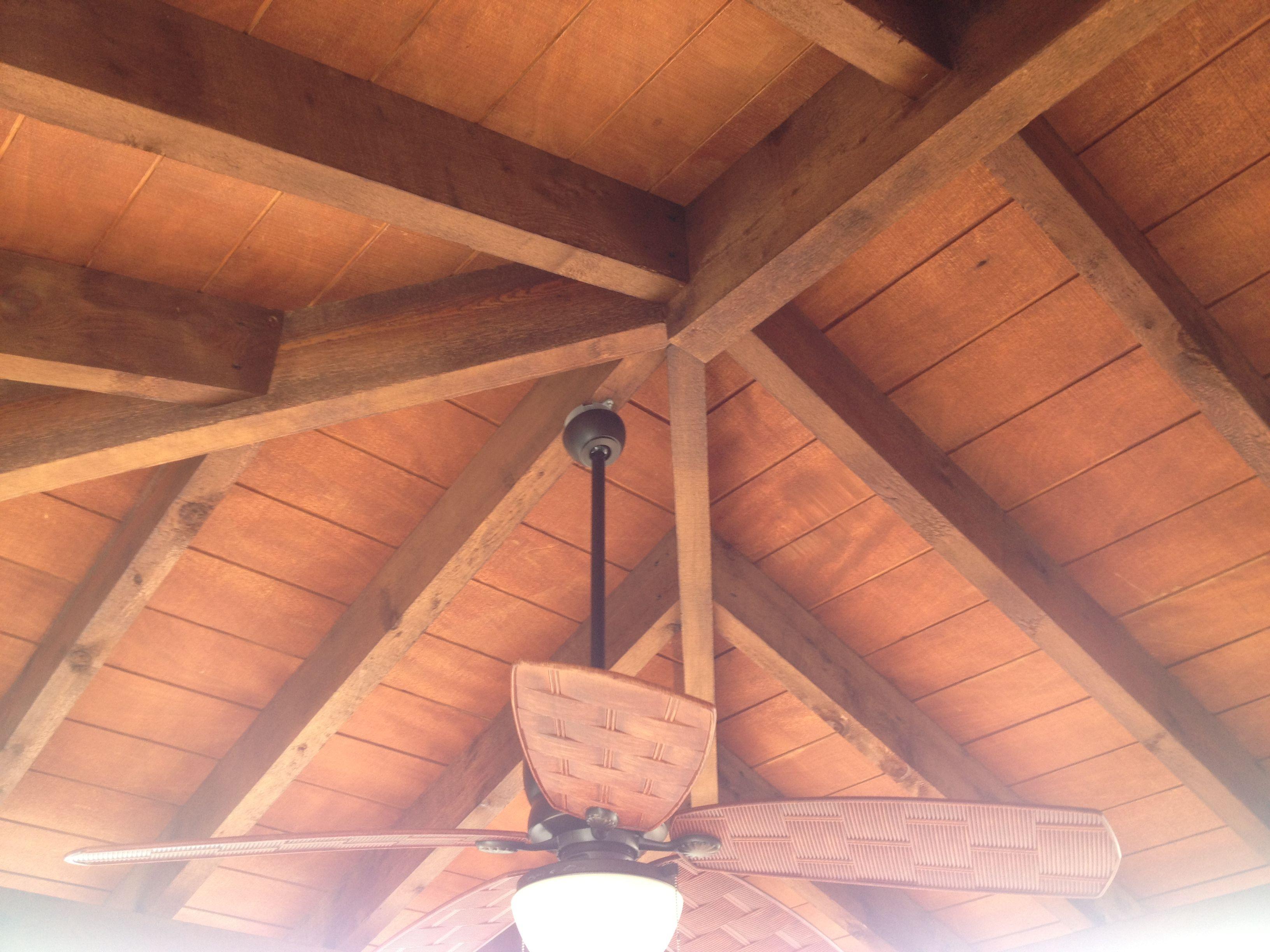 Exposed Beam Cedar Hip Roof Roof Ceiling Cedar Roof Sunroom Designs