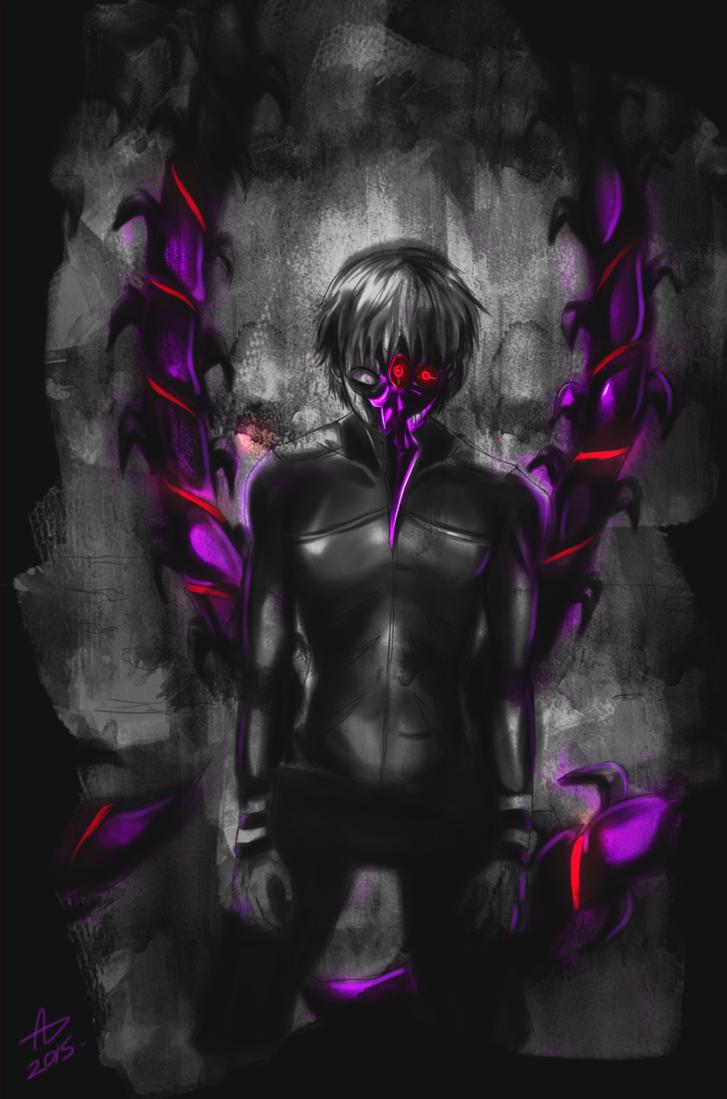 Tokyo Ghoul A Kanekis Centipede Kakuja by guto-strife-1 on