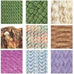 List Of Different Stitches In Knitting : Loom Knitting Stitches Loom knitting, Stitch and Loom knitting stitches