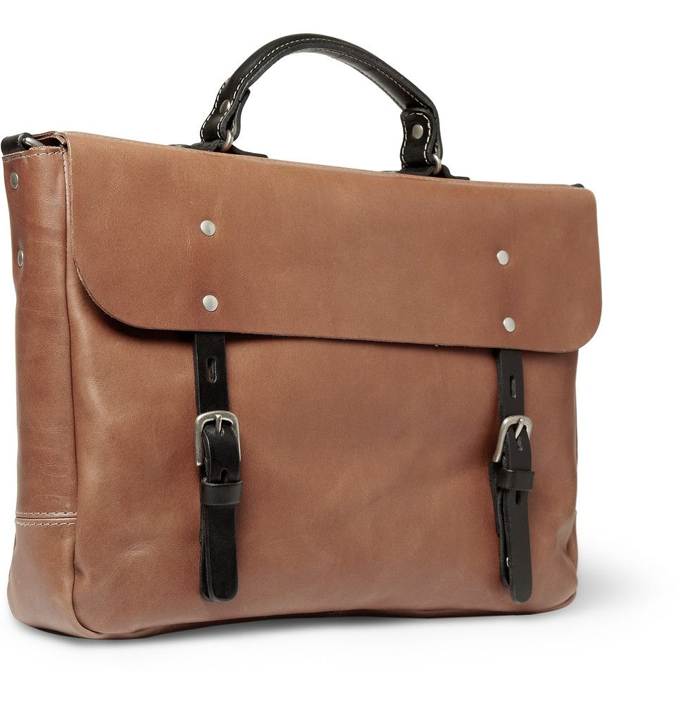 09eecb83f2d Richard leather briefcase, by Ally Capellino. $740 | Bags | Leather ...