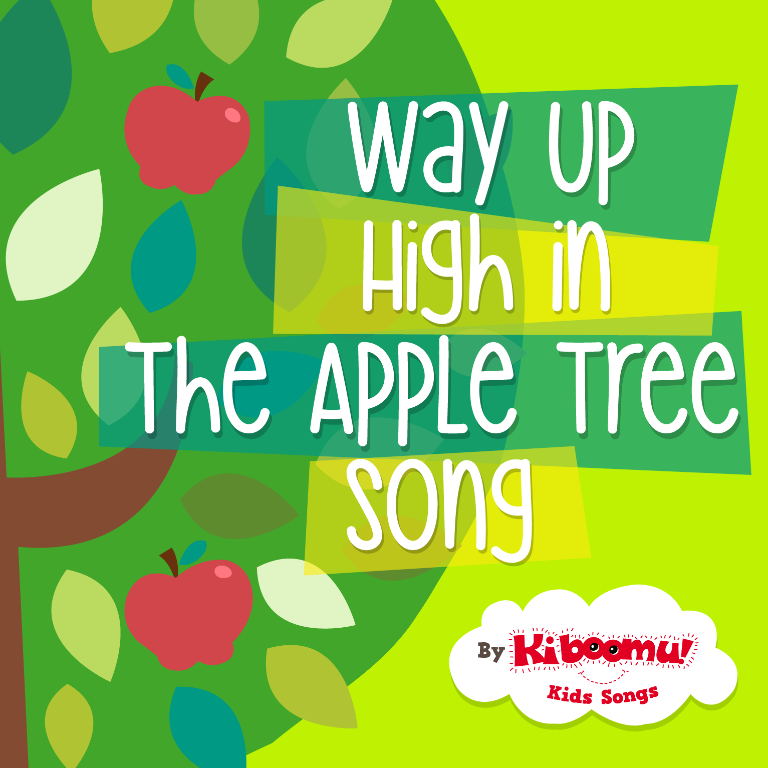 Way Up High In The Apple Tree Song Lyrics And Fingerplay