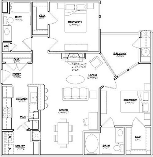 Senior housing floor plan design google search milano for Senior house plans