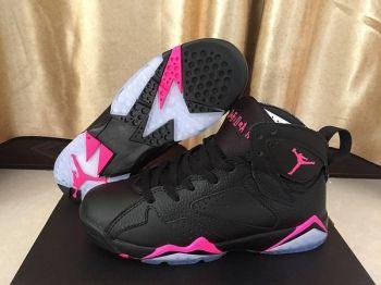 9eba6d71cf0c3 Latest 2018 Air Jordan 7 GS  Hyper Pink