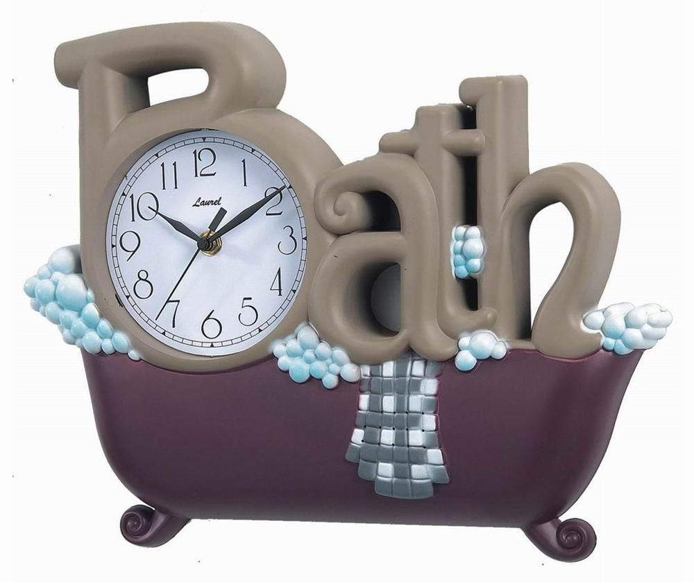 Novelty Bath Clock Bathroom Clock Wall Clock Clock