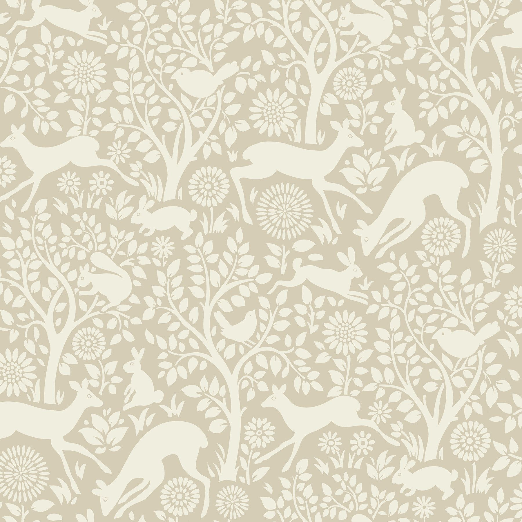 Hide And Seek Anahi Forest Fauna 33 X 205 Wildlife Embossed