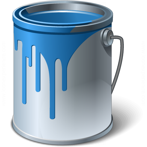 Bucket Color Drip Paint Design Graphic Icon Download On Iconfinder Paint Icon Drip Painting Icon