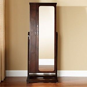 Jewelry Armoire, Walnut Standing Mirror   Jcpenney This Baby Holds Jewelry.