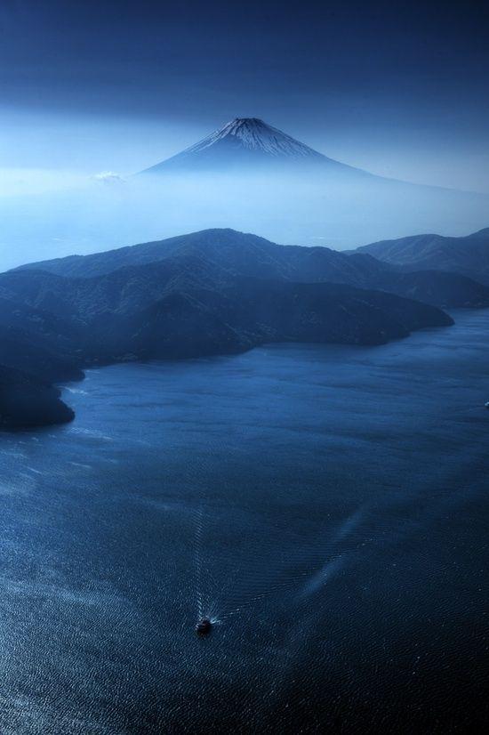 heartforjapan: Гора Фудзи (через Pinterest)