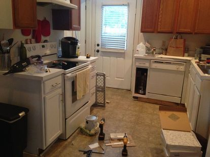 Before U0026 After: $387 Budget Kitchen Update
