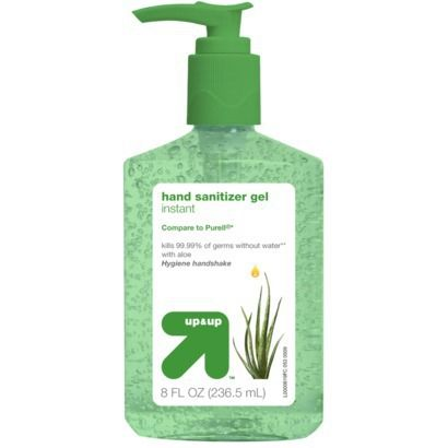 Aloe Hand Sanitizer Gel 8 Fl Oz Up Up Hand Sanitizer
