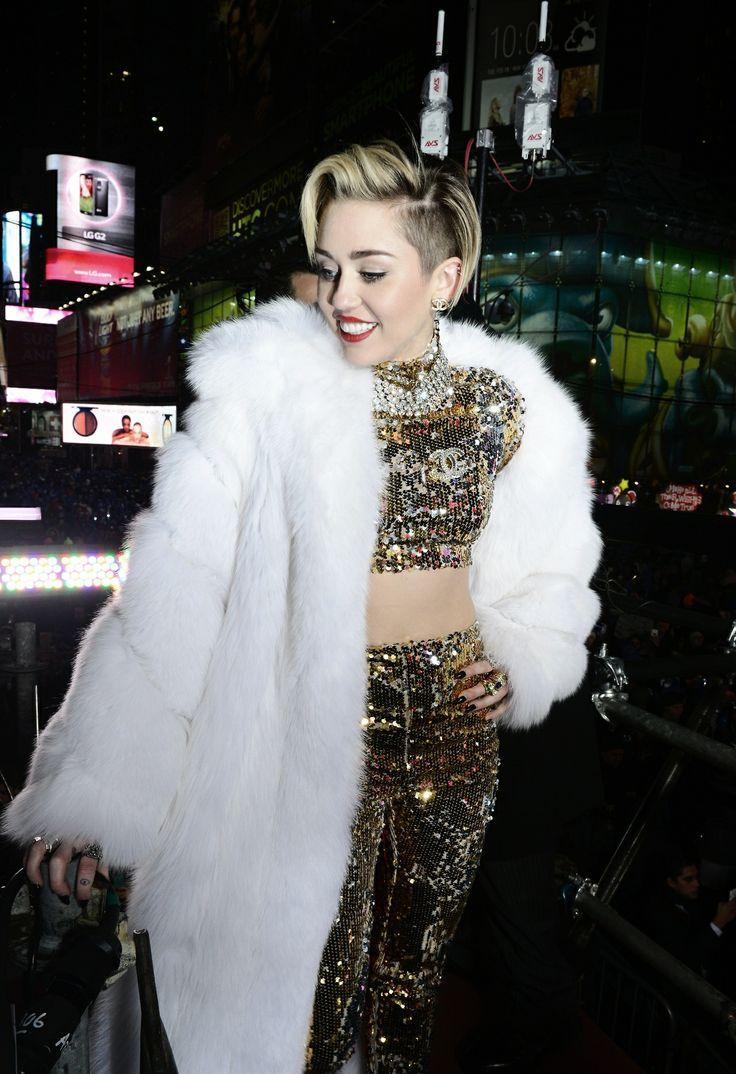 Tendência Casaco de Pelo Miley, Miley cyrus, Fashion